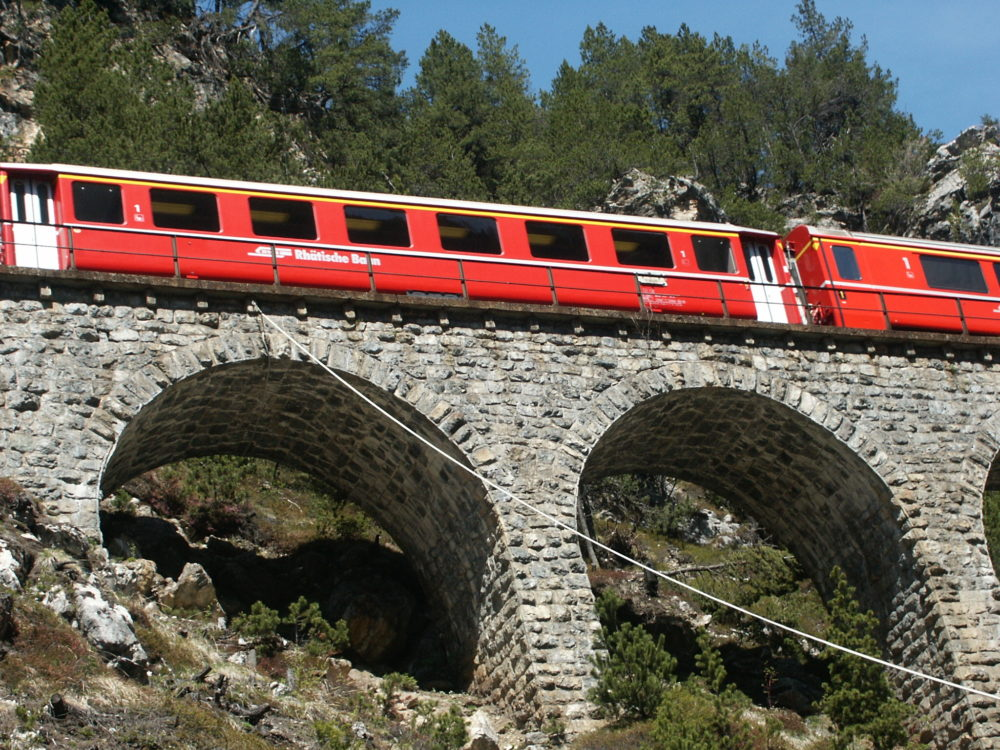 Bahnlinie Preda Bergün