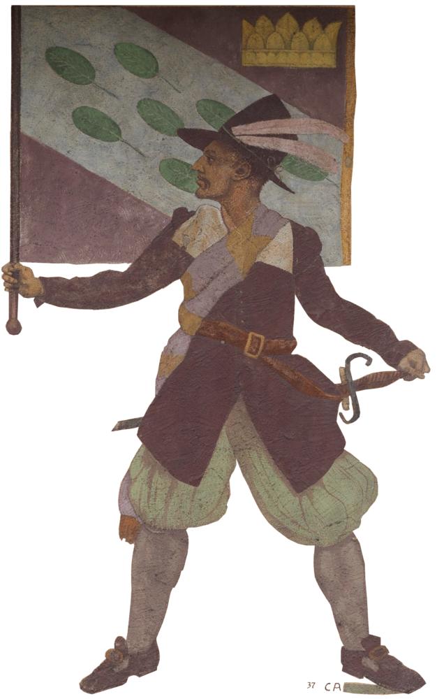 Bannerträger - Cuno Amiet 1937