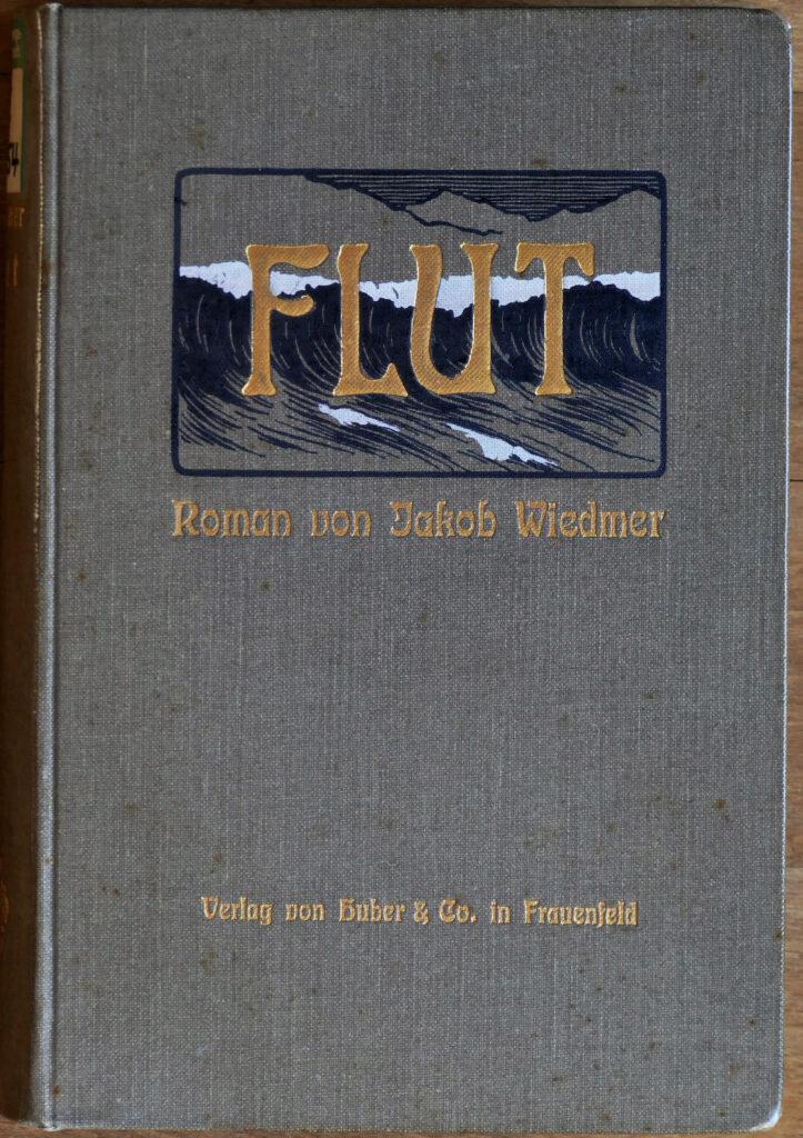 Flut, ein Roman von Jakob Wiedmer