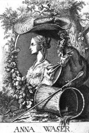 Von Unbekannt - Johann Kaspar Füssli: Geschichte der besten Künstler in der Schweitz. Band 3. Orell, 1770., Gemeinfrei, Link