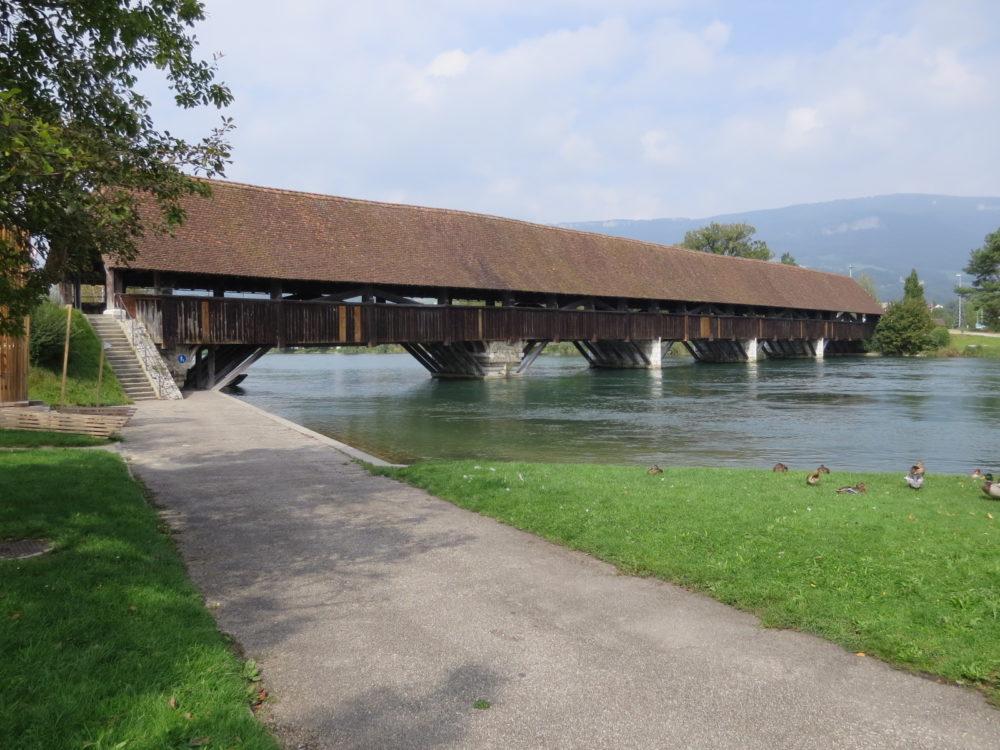 Holzbrücke Wangen