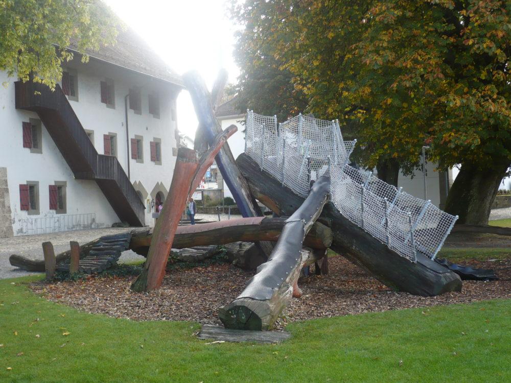 Spielplatz im Gemeindepark