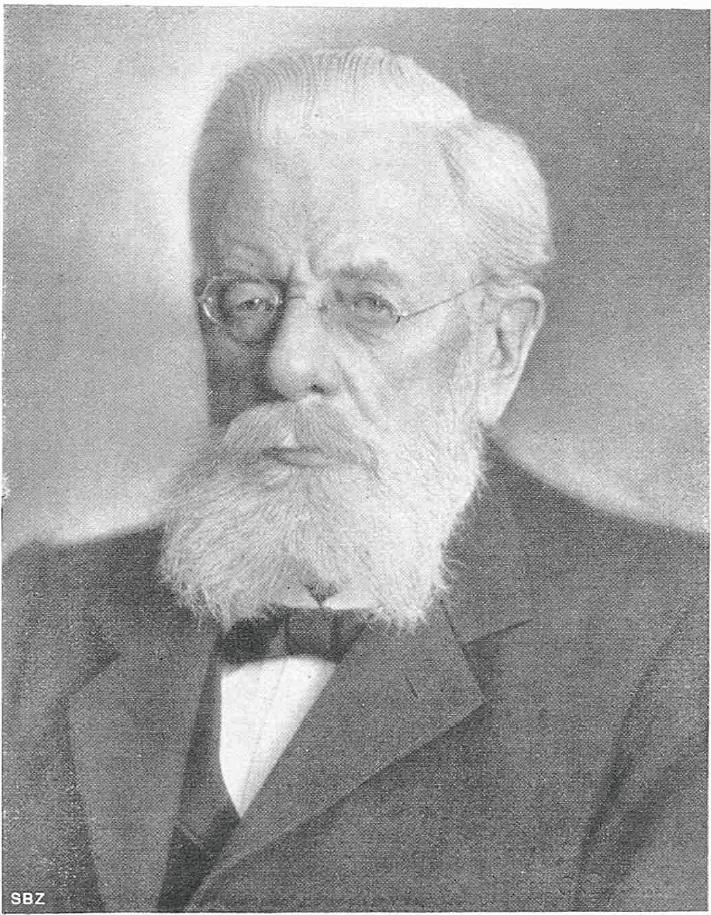 Robert Moser Eisenbahn Ingenieur 1910