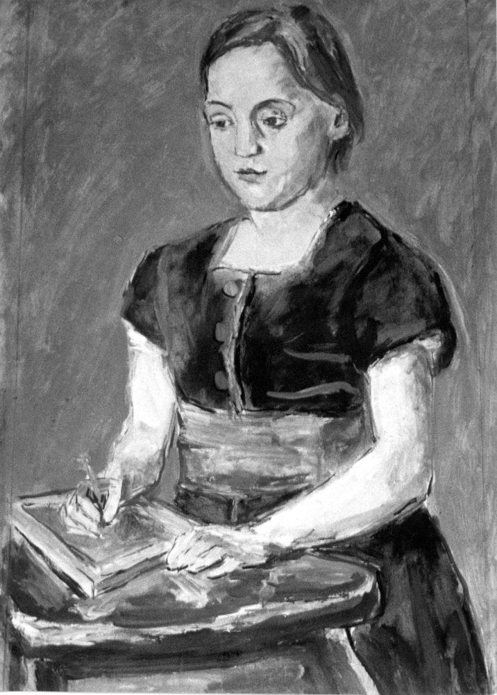1876 Amy Moser gemalt von Ferdinand Hodler