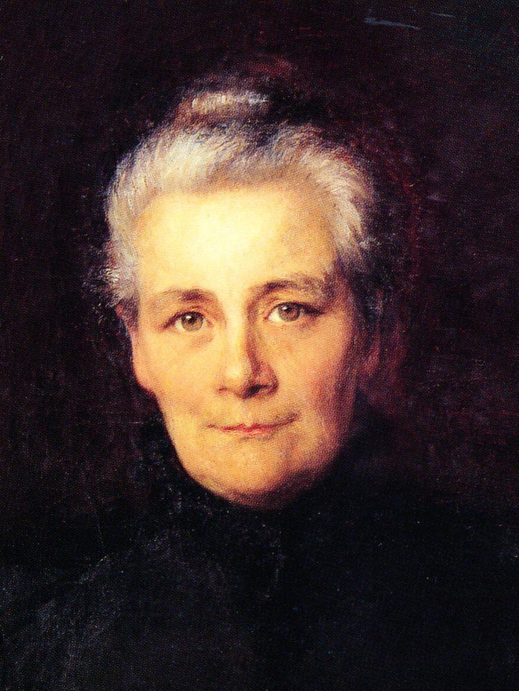 Amélie Moser-Moser Portrait von Anna Stebler