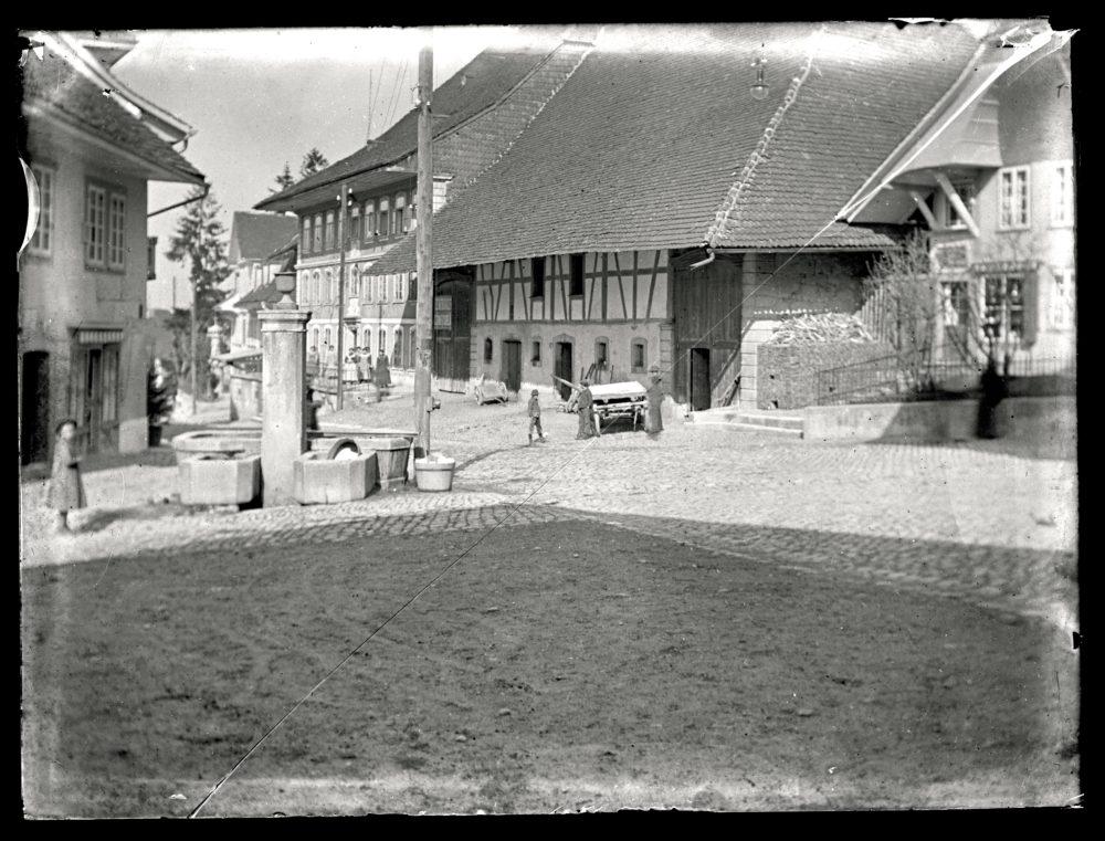 Gasthof Kreuz um 1895
