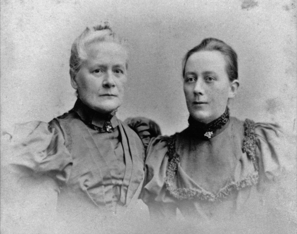 1896 Amelie Moser Moser und ihre Tochter Amy Moser