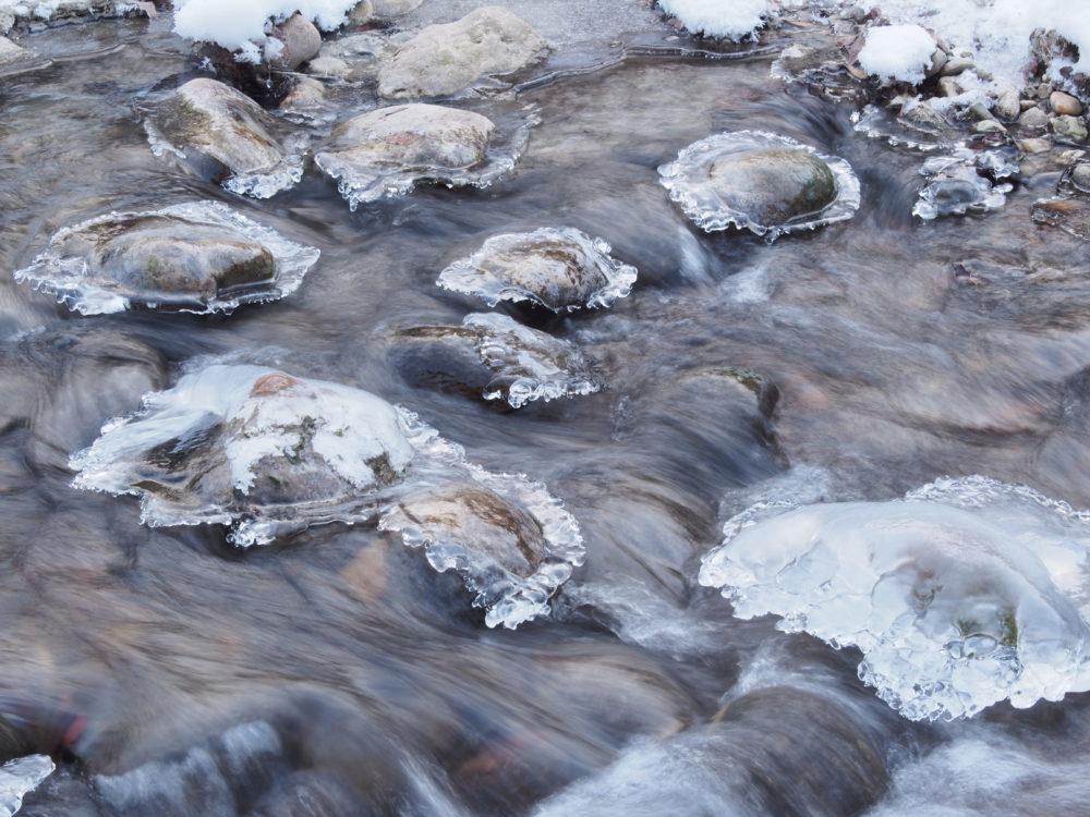 Eiskristalle am Mutzbach
