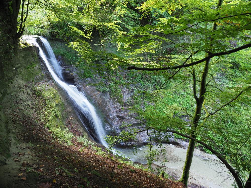 Mutzbachfall der grösste Wasserfall in der Region