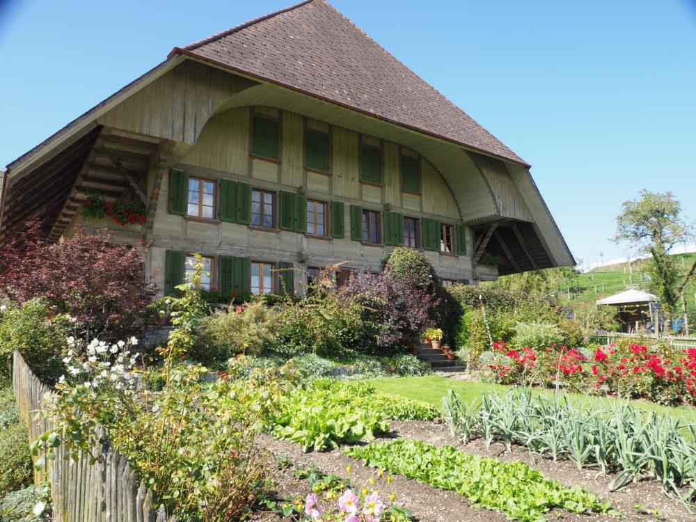 Bauerngarten in Lünschberg